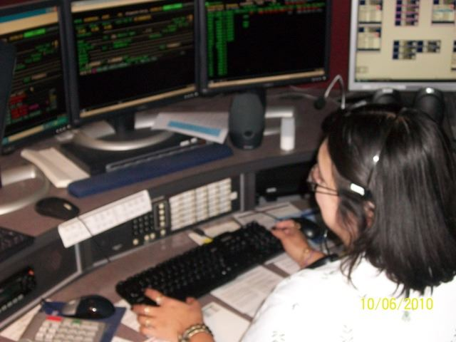 Dispatch Employee Working