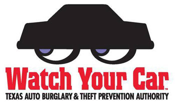 Watch Your Car Texas Auto Burglary and Theft Prevention Authority